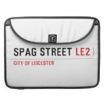 Spag street  MacBook Pro Sleeves