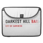 darkest hill  MacBook Pro Sleeves