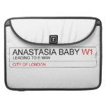 ANASTASIA BABY  MacBook Pro Sleeves
