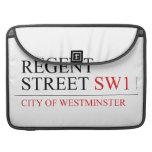 REGENT STREET  MacBook Pro Sleeves