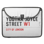 YOOTHA JOYCE Street  MacBook Pro Sleeves