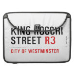 king Rocchi Street  MacBook Pro Sleeves