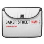 Baker Street  MacBook Pro Sleeves