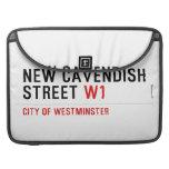 New Cavendish  Street  MacBook Pro Sleeves