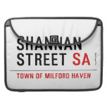 Shannan Street  MacBook Pro Sleeves