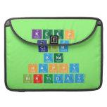 KEEP CALM AND HAPPY BIRTHDAY  MacBook Pro Sleeves