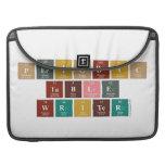 Periodic Table Writer  MacBook Pro Sleeves