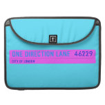 One Direction Lane   MacBook Pro Sleeves