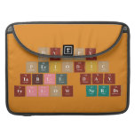 Happy  Periodic  Table Day Fellow Nerds  MacBook Pro Sleeves