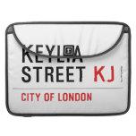 Keylia Street  MacBook Pro Sleeves