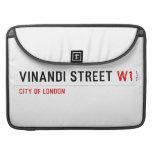 VINANDI STREET  MacBook Pro Sleeves