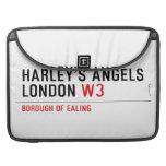 HARLEY'S ANGELS LONDON  MacBook Pro Sleeves