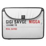 GiGi savge   MacBook Pro Sleeves