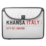 khansa  MacBook Pro Sleeves