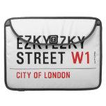 ezkyezky Street  MacBook Pro Sleeves