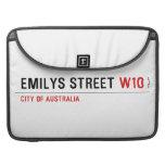 Emilys Street  MacBook Pro Sleeves