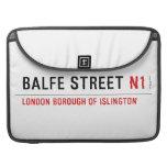 Balfe Street  MacBook Pro Sleeves