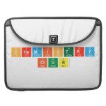 chemistry club  MacBook Pro Sleeves