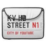 KV HD Street  MacBook Pro Sleeves