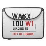 WAKX LOU  MacBook Pro Sleeves