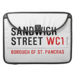Sandwich Street  MacBook Pro Sleeves