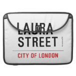 Laura Street  MacBook Pro Sleeves
