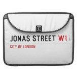 JONAS STREET  MacBook Pro Sleeves
