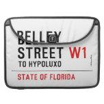 Belley Street  MacBook Pro Sleeves