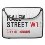 Kale Street  MacBook Pro Sleeves