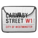 carnaby street  MacBook Pro Sleeves
