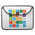 Abcdef ghijk lmnopq rstuv wxy&z  MacBook Pro Sleeves