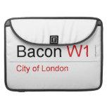 Bacon  MacBook Pro Sleeves