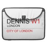 DENNIS  MacBook Pro Sleeves