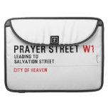 Prayer street  MacBook Pro Sleeves