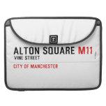 ALTON SQUARE  MacBook Pro Sleeves