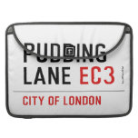 PUDDING LANE  MacBook Pro Sleeves
