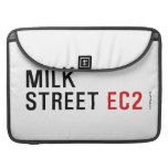 MILK  STREET  MacBook Pro Sleeves