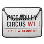 piccadilly circus  MacBook Pro Sleeves