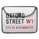 oxford street  MacBook Pro Sleeves