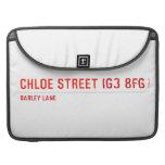 chloe Street  MacBook Pro Sleeves