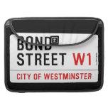 Bond Street  MacBook Pro Sleeves