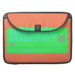 Capri Mickens  Swagg Street  MacBook Pro Sleeves