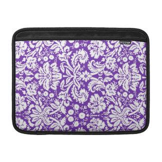 Macbook Purple Damask Pattern Sleeves For MacBook Air