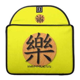 Macbook Sleeve Chinese Symbol For Happiness Sleeve For MacBooks