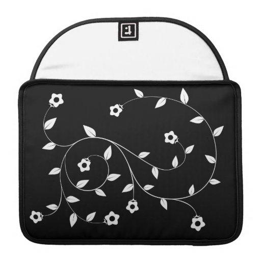 MacBook Sleeve - Flower Filigree Sleeves For MacBooks