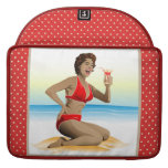 MacBook Sleeve summer pin-up with cocktail Sleeves For MacBooks