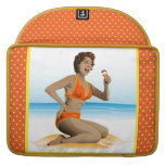 MacBook Sleeve summer pin-up with  ice-cream Sleeves For MacBooks