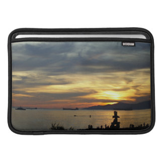Macbook Sleeve Vancouver Ocean Sunset Souvenir