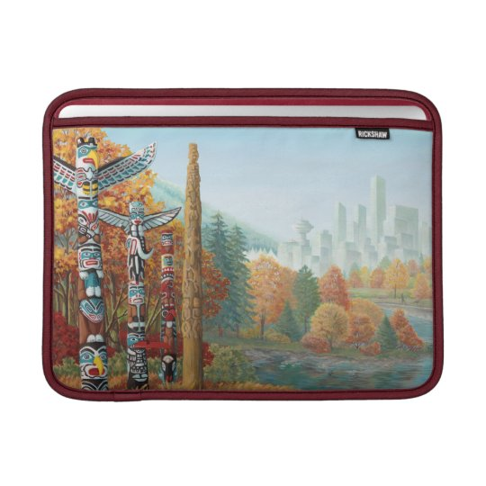 MacBook Sleeve Vancouver Souvenir Art Gifts
