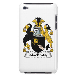 MacBrady Family Crest Barely There iPod Cases